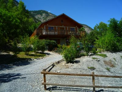 Photo for Chalet spacious for families. Walking, skiing, mountain biking, whitewater, golf