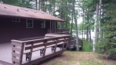 Photo for Mike's Getaway Five Bedroom Chalet on Eagle River Chain