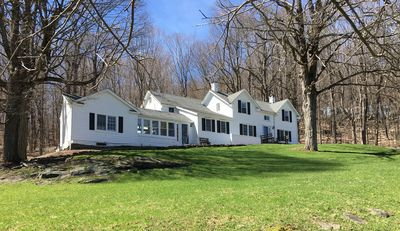 Photo for 1870s secluded Farmhouse on 10 acres 75 minutes to NYC or Metro North