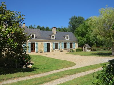Photo for Spacious, comfortable 4 star 3-bedroom pet-friendly gite in woodland location