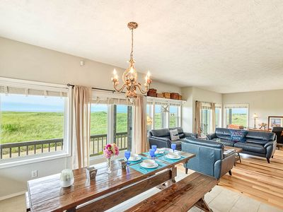 """Photo for Ocean Front, Wow Views! Pets, 75"""" Theater (Weath)"""