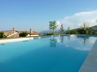 Photo for Beautifully restored villa with stunning views