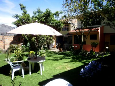 Photo for Casa Bella Mia. This Inviting, Spacious Flat With Lush Garden Awaits You!
