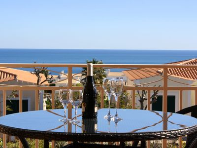 Photo for Beautiful Villa With Private Pool, Fabulous Sea Views, Walk To The Beach