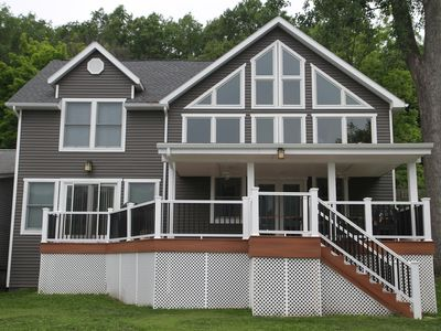 Photo for Brand New Home, July and August Weeks Still Available. Great Lakeside Porch.