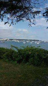 Rockland Harbor-a short walk from house