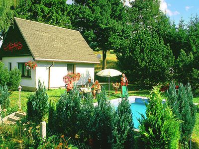 Photo for Beautiful holiday home in Thuringia with private swimming pool and wood stove