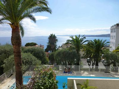 Photo for stunning stunning sea view apartment, swimming pool residence near the port city sea
