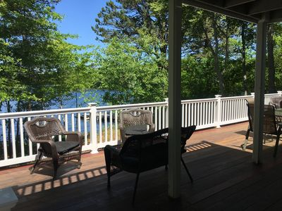 Photo for Wequaquet Lake Dream with Private Dock, See Our Video!