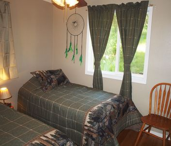 Second bedroom with its Native American theme