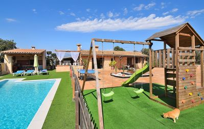 Photo for Son Sitges Villa with barbecue pool and a huge garden 139