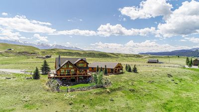 Photo for Palisades at the Madison River Front Montana Log Home