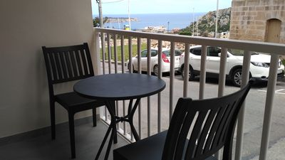 Photo for Temple Hill, own entrance apartment by Mellieha Church, 5mins by bus to the sea