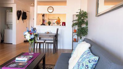 Photo for Luxury Apt w. NYC view & minutes away from subway