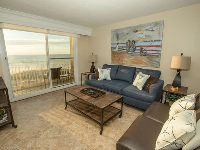 Photo for Destin on the Gulf 406 is a beautifully updated Gulf Front 2 BR