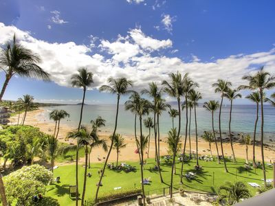 Photo for Ocean Front on Maui's Best Beach, Completely Renovated