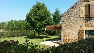 Photo for Isolated house in the countryside between Cahors and Sarlat in the Dordogne lot