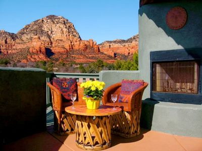 Spectacular Sedona Red Rock And Sunset Views~Honeymoon Escape~Luxurious Hot Tub