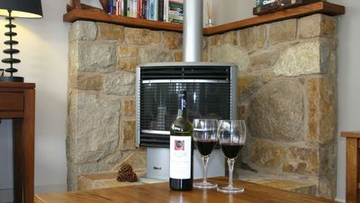 Photo for Cobden award winning accommodation Gas wood fire