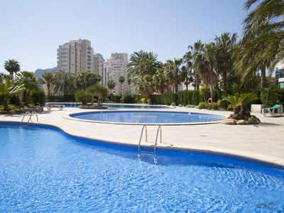 Photo for Holyday rental apartment located in Calpe (Costa Blanca) with capacity for 6 people. New apartment, constructed in 2003.