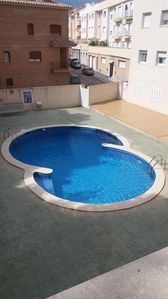 Photo for BEAUTIFUL APARTMENT 20 m from the BEACH WITH POOL