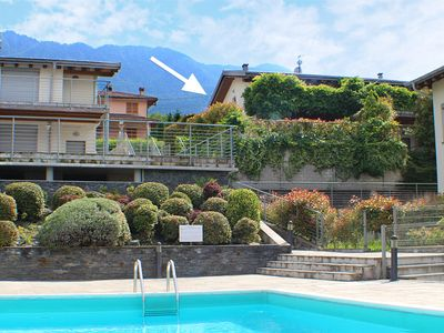 Photo for » with panoramic views of the lake and Alps  » a light, bright and modern living style