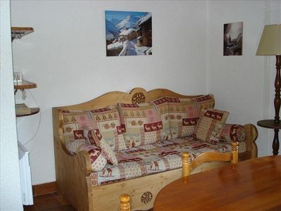 Photo for Duplex 3 rooms mezzanine 6 people 2* exposed South