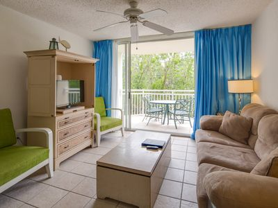 Photo for Dog-friendly Sunrise Suites condo w/ shared pool, & hot tub!
