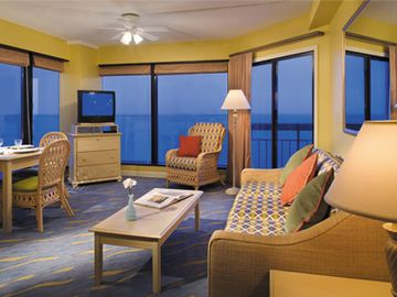 Beautiful 1br 1bth Deluxe Ocean Front With Fantastic Views Heart Of Myrtle Beach