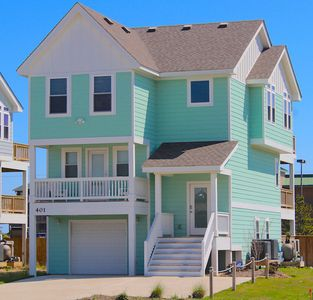 Photo for Bikini Bottom- Beautiful Beach Home just blocks from the Sandy Shore