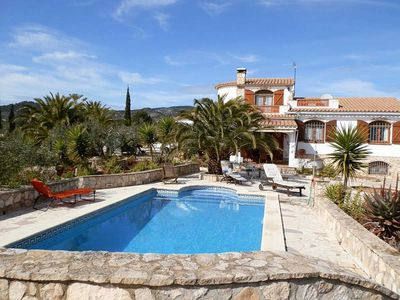 Photo for CASA HAJOKIN,Ideal house for your holidays near the sea, free wifi, private pool, pets allowed, dog's beach.