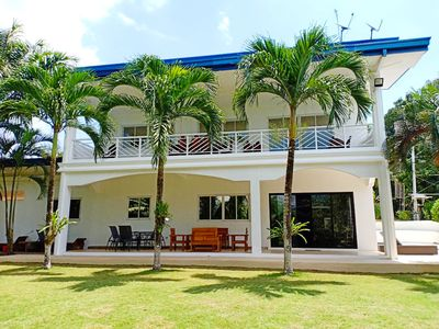 Photo for Beautiful villa with pool 3000 sqm tropical garden