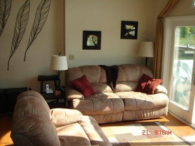 Photo for Luxury Waterfront Boathouse Townhome / Alex Bay / NEW - King Master!
