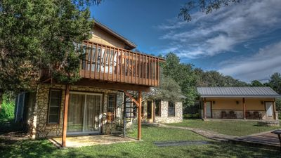 Photo for 5BR Lodge Vacation Rental in Concan, Texas