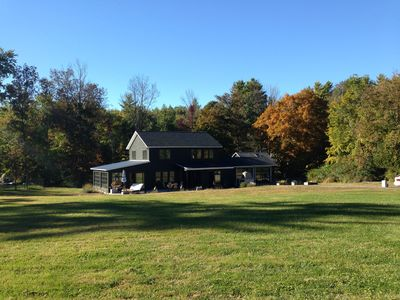 Photo for Stunning Contemporary Country Home With Salt Water Pool In Woodstock Ny