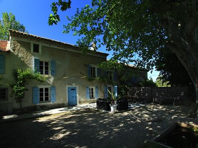 Photo for charming house up to 8 people with heated pool near L isle-sur-la-Sorgue