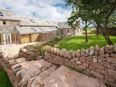 Photo for An award-winning cottage with a cathedral ceilinged massive breakfasting kitchen