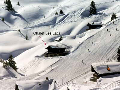 Photo for SKI IN/SKI OUT LUXUOUS CHALET OF 240 sq. m., 18  PERSONS