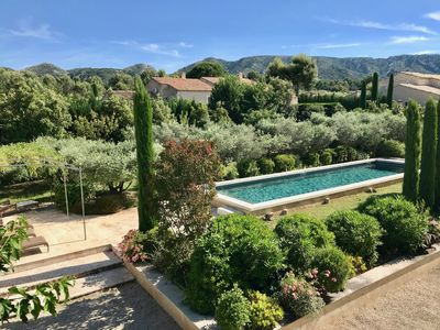 Photo for Provencal farmhouse near the center of Eygalières