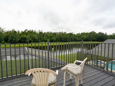 Photo for Gated 5 Bedroom Orlando Vacation Home with Beautiful Lake View, Outdoor Spa & Free WIFI!