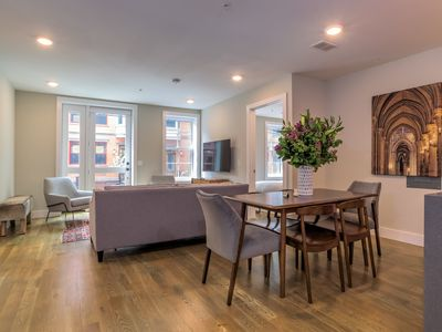 Photo for Awesome 3 BR Duplex w/ Terrace near Grove St PATH
