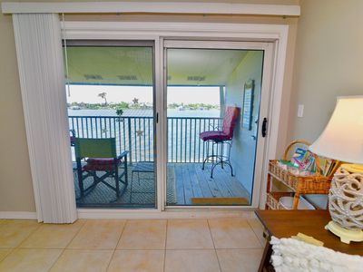 Photo for 2BR / 2BA | Waterfront Condo | Beautiful Balcony Views | Boat Docks