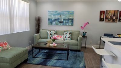 Photo for Sam's Place in Historic Hollywood FL 10 min to beach. High quality finishes.