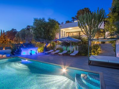 Photo for Stylish Villa in one the most famous location of Ibiza