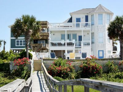 Photo for Carolina Cottage: 4 BR / 3.5 BA home in Oak Island, Sleeps 12