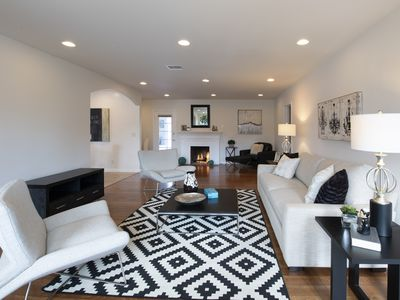 Photo for Newly remodeled North Hollywood home with Pool House