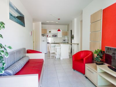 Photo for SUITABLE FOR FAMILY, WITH POOL, GARAGE NEAR THE BEACH