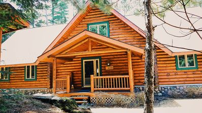 Photo for Luxurious & Secluded Tall Pines Lodge on Little St. Germain Lk,  Sleeps 13