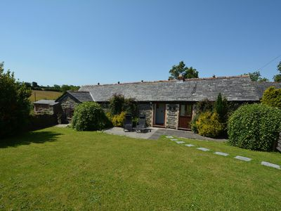 Photo for Delightful single storey barn with charming features near Looe. Pet friendly.