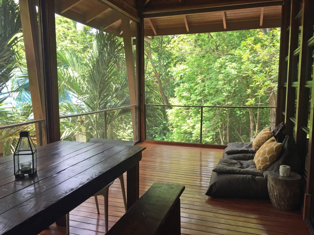 Modern jungle tree house great for small f vrbo